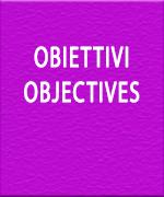 OBIETTIVI / OBJECTIVES